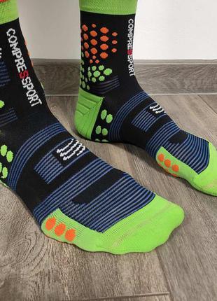 Мужские  спортивные термо носки  беговые  трейловые compression   оригинал размер 42-44
