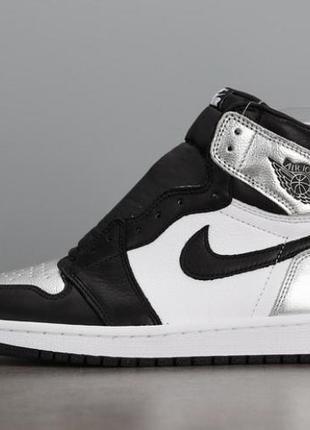 """Jordan 1 """"silver toe"""""""