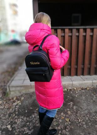 Рюкзак женский городской с вышивкой