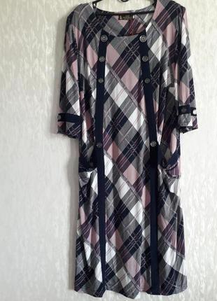 Стильное платье s&l collection, 64 размер