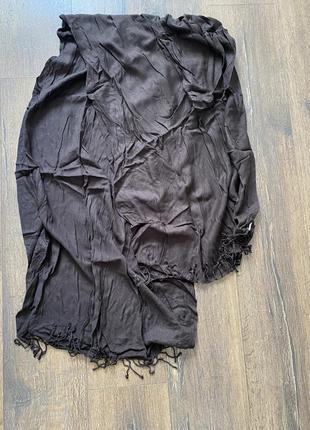 Базовый шарф палантин 100% кашемир