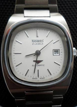 Швейцарские механические часы с автоподзаводом тugaris .