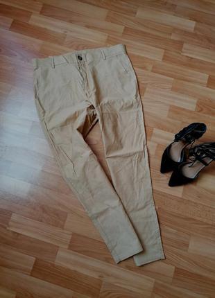 👑класичні бежеві брюки 👑бежевые брюки прямого кроя