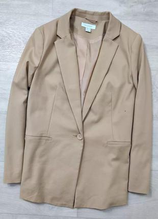 Базовый двубортный пиджак жакет