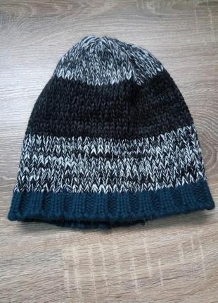 Мягкая теплая шапка шапочка)