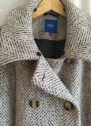 Женское демисезонное осеннее пальто. элегантное пальто осень - зима- весна  бренда cotton traders.