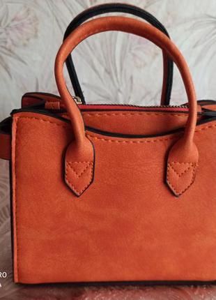 Мини сумочка с 3 отделениями