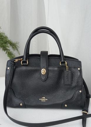 Шкіряна сумка coach