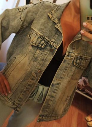 Джинсовый пиджак новый джинсовка