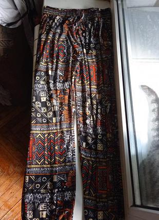 Свободные штаны, по типу алладинок