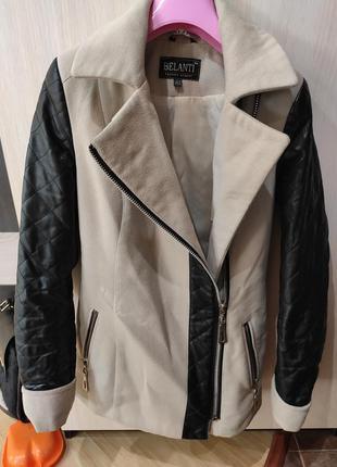 Осеннее пальто xs s