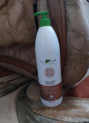 La fabelo професиональный шампунь доя восстановления волос италия