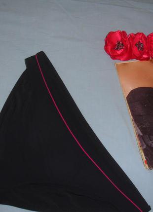 Низ от купальника женские плавки размер 50-52 / 16 черный бикини