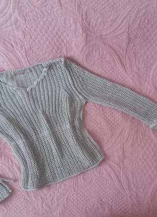 Итальянский свитер в стиле dolce & gabbana