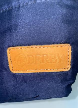 Сумка  стёганная derby синяя