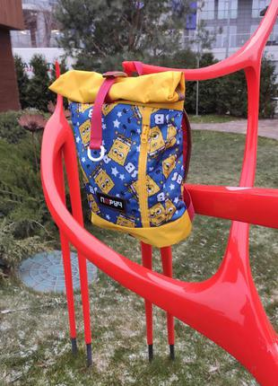 Дитячий рюкзак ролл топ