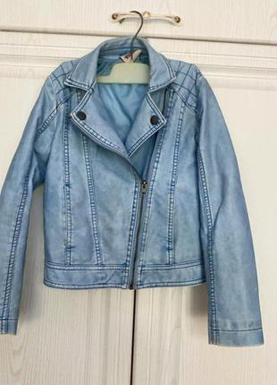 Красивая, оригинальная куртка под джинс