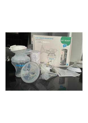 Электрический молокоотсос babyono natural nursing 300 с тремя фазами