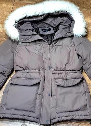Женская куртка с капюшоном yimeige