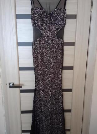Акція!!! вечірнє мереживне плаття