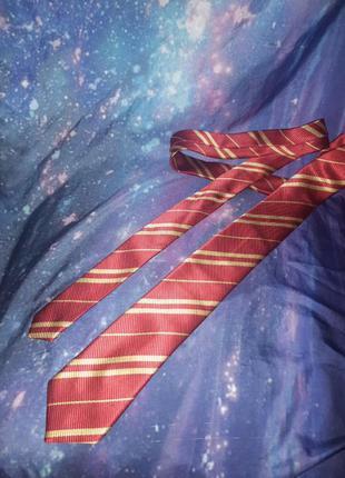 Шёлковый галстук гриффиндор гарри поттер