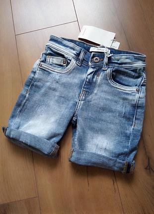 Джинсовые шорты reserved для мальчика 4-5, 5-6 лет