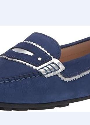 Балетки туфли лоферы мокасины driver club usa us9,5 eu,40,5-41 кожа