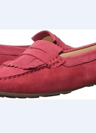 Балетки туфли лоферы мокасины driver club usa us7,5 eu38-38,5 кожа