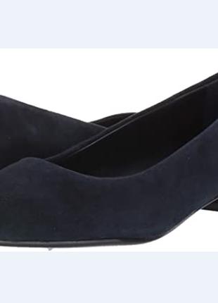 Замшевые туфли балетки bandolino размер 8,5 39-39,5