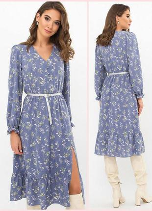 Оригинальное платье миди (4 расцветки)* отличное качество