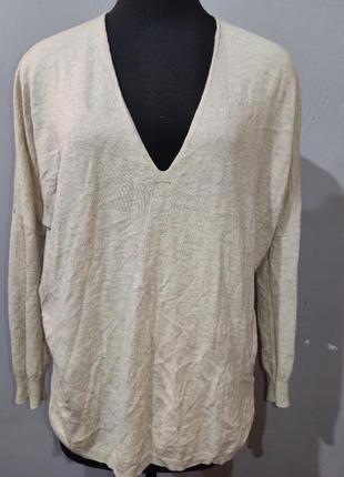 Нежный свитер с кашемиром