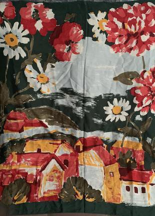 Шёлковый платок италия