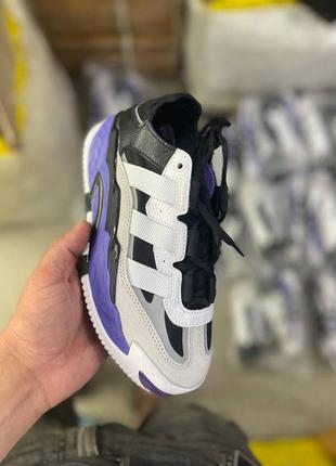 Шикарные женские кроссовки niteball violet наложка