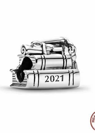 Серебряный шарм 925 выпуск 2021 подвеска кулон