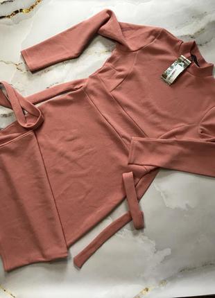 Рожеве плаття міді