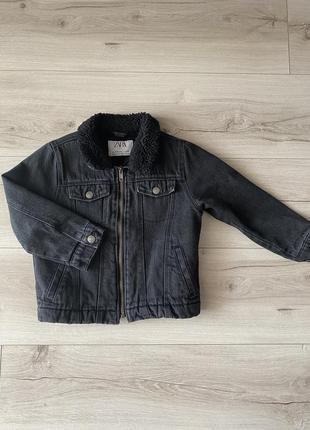 Куртка zara(3-4 года)