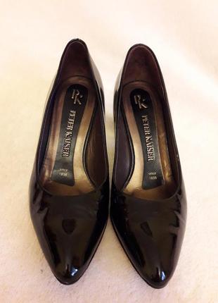 Шикарные кожаные туфли фу peter kaiser ( германия) р. 35 стелька 22,5 см