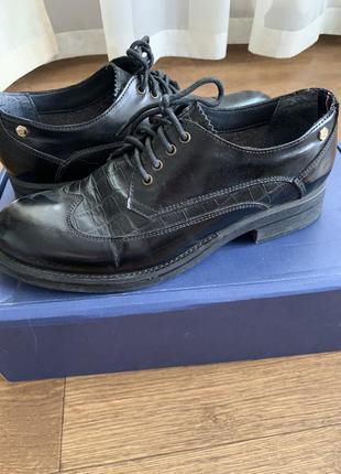 Оксфорды туфли tommy hilfiger