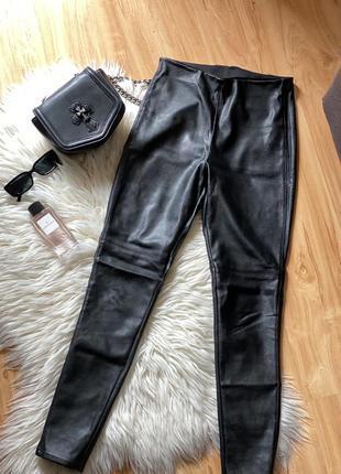 Кожаные штаны кожаные брюки