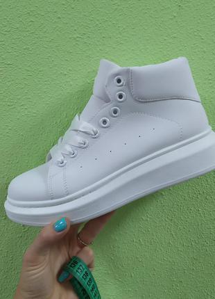 Деми ботинки высокие кроссовки
