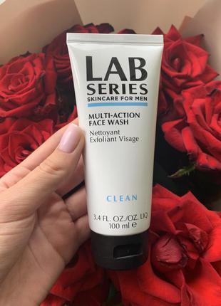 Очищающий гель для лица lab series
