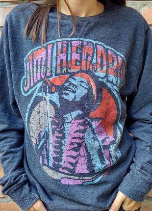 Свитшот  кофта свитер джемпер jimi hendrix