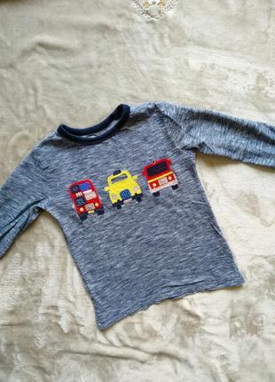 Крутая кофточка лонгослив для мальчика 🌞❤️/ футболка з довгим рукавом next