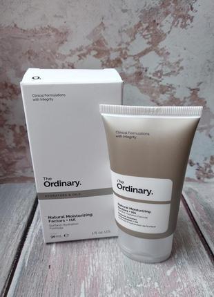 Крем з гіалуроновою кислотою the ordinary natural moisturizing factors