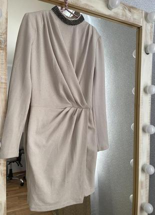 Платье белое светлое love republik размер с-м