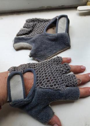 Перчатки-велосипедки, для тренажеров, для авто
