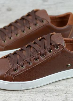Стмльные мужские кеды кроссовки туфли натуральная кожа