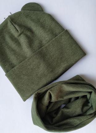Шапка снуд шарф комплект набір набор