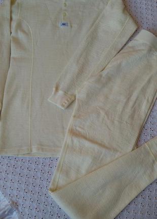 Комплект термобілизни helly hansen з мериносовою вовною термо реглан штани термобелье шерстяное