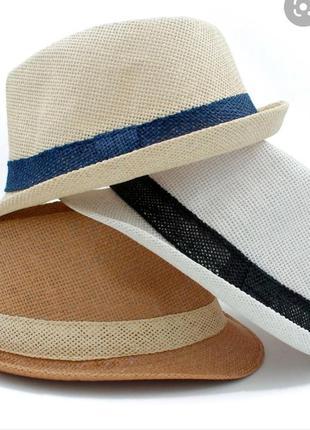 Капелюх панама шляпа летняя